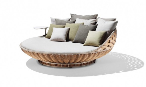 lounge-bett-dedon, Swingrest von DEDON