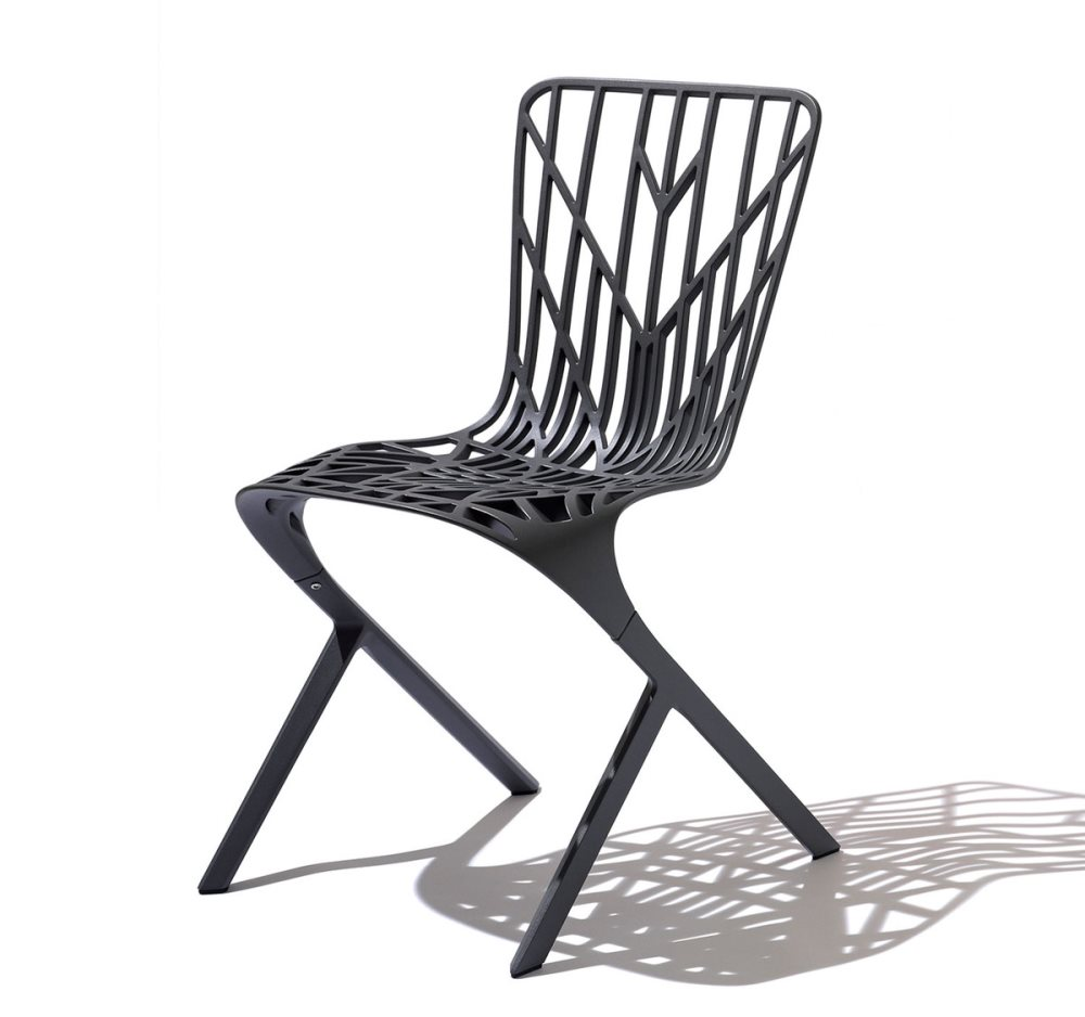 Pulverbeschichtet und aus Aluminium Washington Skeleton Chair