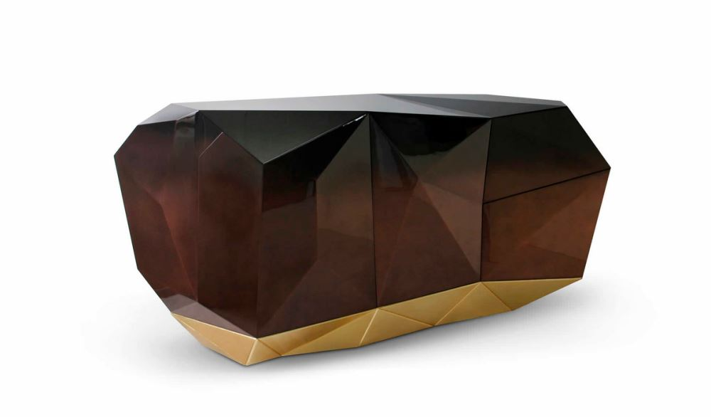 Diamond Chocolat Sideboard, Bild Boca do Lobo